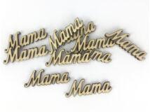 """Natúr fa - """"Mama"""" felirat 10db/csomag"""