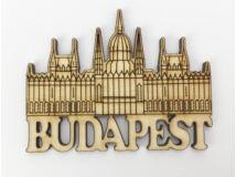 Natúr fa - Hűtőmágnes Budapest