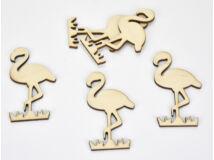 Natúr fa - Flamingó 8cm 5db/csomag