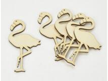 Natúr fa - Flamingó 6x11cm 5db/csomag