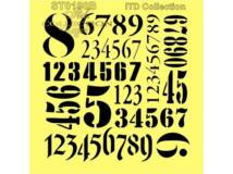 Stencil 16x16cm