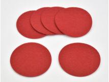 Filc - Kör lap piros 8cm 6db/csomag
