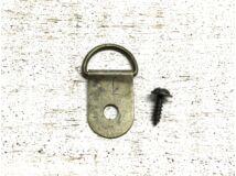 Fém akasztó bronz + csavarok 10db/csomag