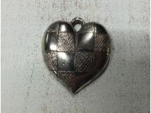 Szív ezüst medál (darab ár!!!)