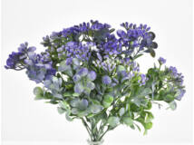 Bogyós bukszus színes lila 2db/csomag