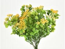 Bogyós bukszus színes sárga 2db/csomag