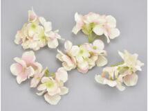 Cirmos rózsaszín hortenzia fej 5db/csomag