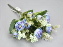 Boglárka csokor bogyóval - kék