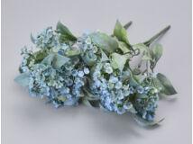 Kék korall virág csokor 2db/csomag