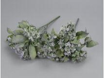 Lila korall virág csokor 2db/csomag
