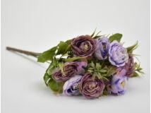 Fodros begónia csokor lila