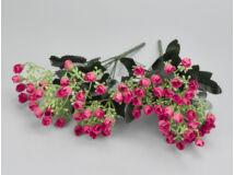 Apró rózsacsokor - magenta 2db/csomag