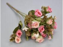 Vintage rózsacsokor - pink