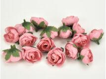 Begónia fej rózsaszín 3cm 15db/csomag