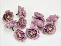 Fodros virágfej mályva 4cm 10db/csomag