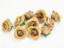 Rózsafej kicsi karamell 4cm 10db/csomag