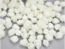 Habrózsa fej fehér 3cm kb 500db/csomag