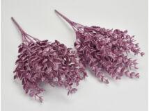 Pink csillámos buxus 2csokor/szett