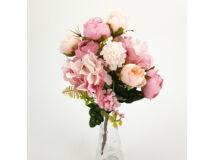 Vegyes csokor rózsaszín 300/#