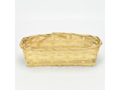 Bambusz tál 12*25,5cm 375/#