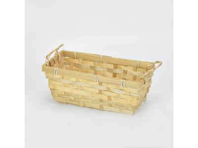 Tégla bambusz tál 197/#