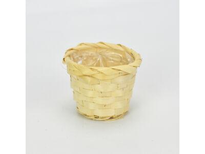 Bambusz kaspó natúr 1250/#