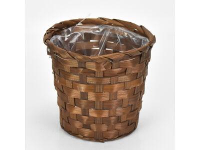 Bambusz kaspó barna 300/#