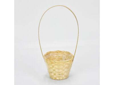 Bambusz füles kaspó natúr 12cm 360/#