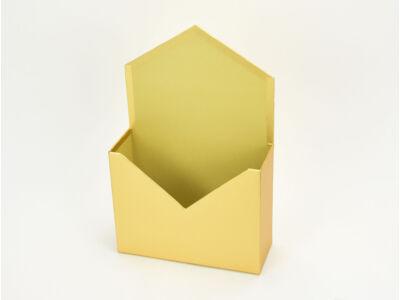Boríték formájú papírdoboz arany 64/#