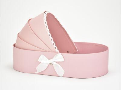 Bölcső doboz pink
