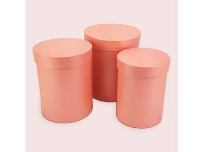 Henger doboz szett rózsaszín 3db/szett