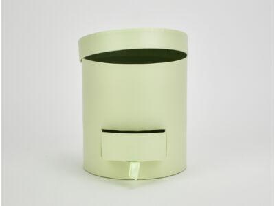 Papírdoboz henger fiókos pisztácia 48/#