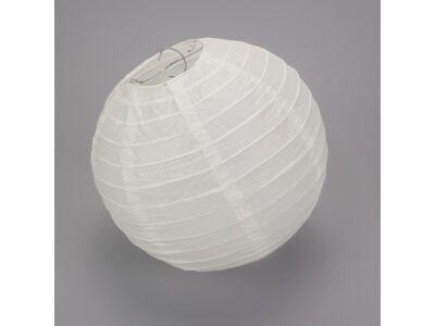 Papír lampion fehér 25cm