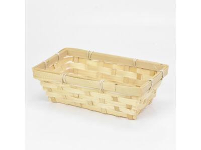 Bambusz tál 20*12cm