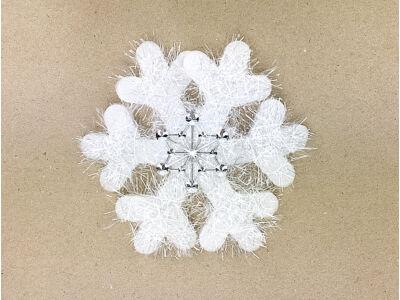 Hópihe dekoráció kicsi 16cm