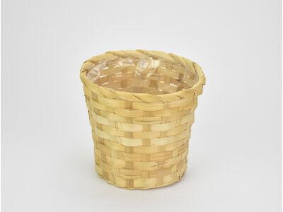 Bambusz kaspó natúr 16cm  300/#