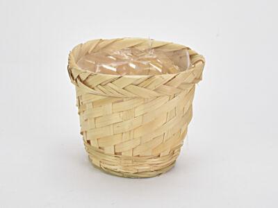 Bambusz peremes kaspó natúr 14,5cm 205/#