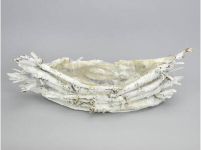 Fehér havas gyökér csónakkosár 12/#