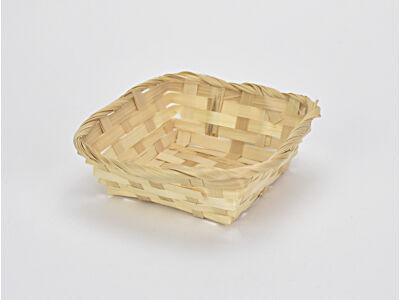 Bambusz tál 14*14cm