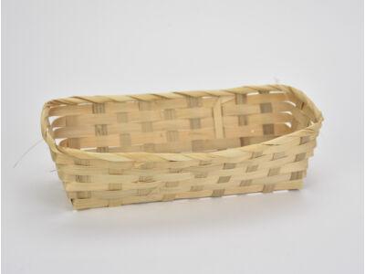 Bambusz tál 12*25,5cm