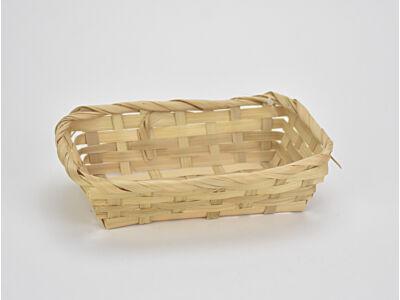 Bambusz tál 13*19,5cm
