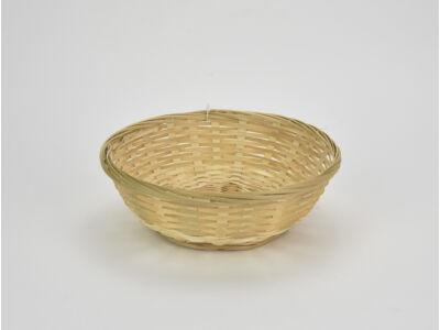 Kerek bambusz tál 20cm