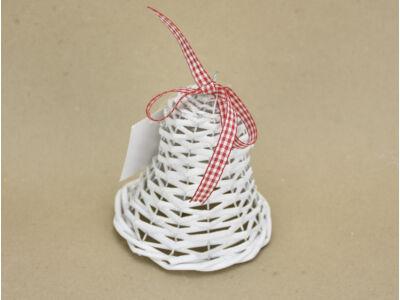 Vessző harang fehér 10cm