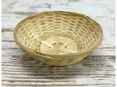 Kerek bambusz tál 17cm