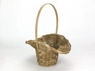 Bambusz florentin kosár barna 72/#