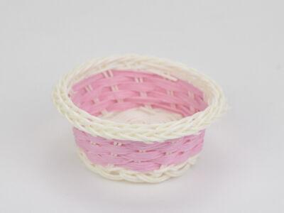 Színes tálka műanyag rózsaszín