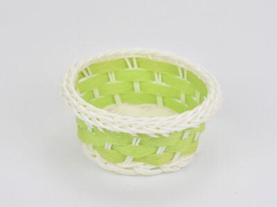 Színes tálka műanyag zöld