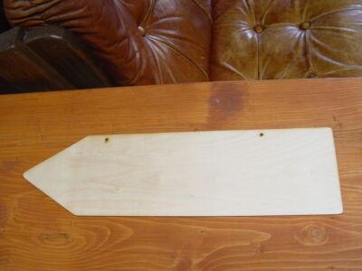 Natúr fa - Hagyományos nyíl 50x14cm