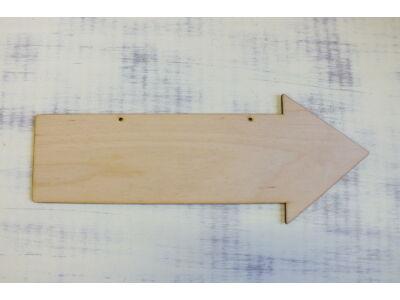 Natúr fa - Nyíl 30cm