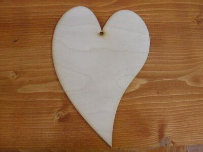 Natúr fa - Francia szív 14x20cm